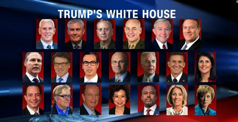 Large Turnover in Trump Cabinet Likely After Mid-Terms