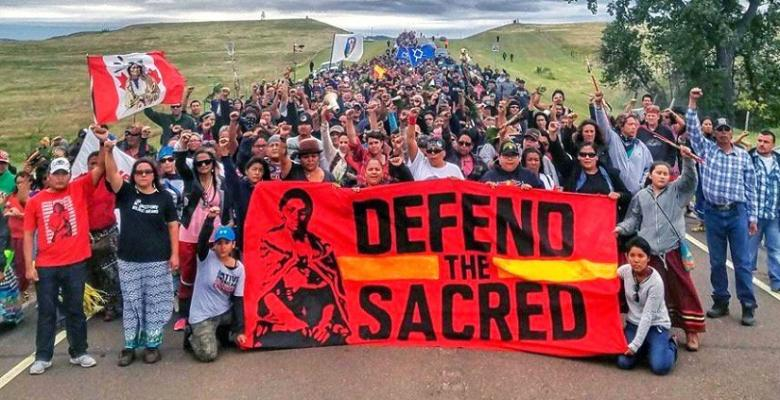 Standing with the Standing Rock Tribe