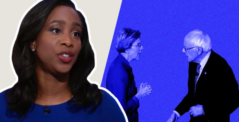 CNN Moderator Abby Phillip Criticized For Question About Sanders-Warren Spat