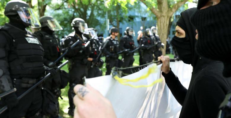 Political Violence, Police Militarization And Antifa