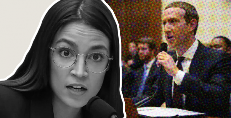Video of AOC Grilling 'Befuddled' Mark Zuckerberg on Facebook's Fact-Checking Policy Goes Viral