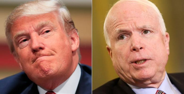 John McCain's Increasingly Lonely Feud With Trump