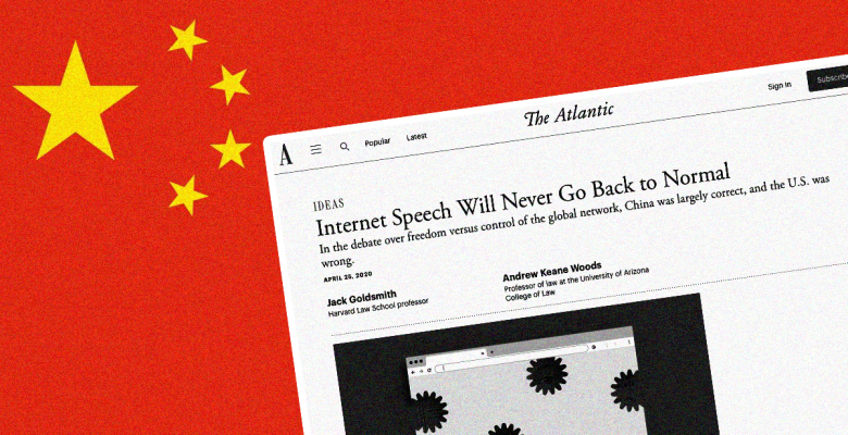 When it Comes to the Internet, Chinese Practices are Neither Desirable Nor Inevitable