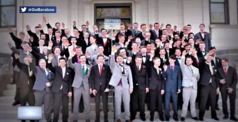School Won't Punish Students for Nazi Salute in Prom Photo Because of The 'First Amendment'