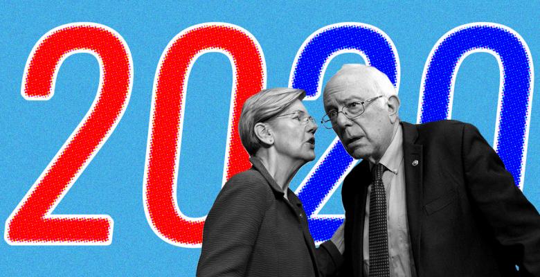"""Elizabeth Warren Claims Sanders """"Disagreed"""" a """"Woman Can Win"""" in 2020, Bernie Denies It"""