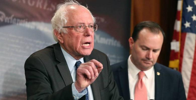 Bernie Sanders Warns Of 'Never-Ending War' In Yemen