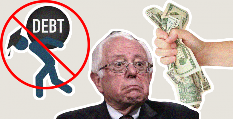 Bernie Wants to Tax Wall Street to Eliminate All $1.6 Trillion of Student Debt in US