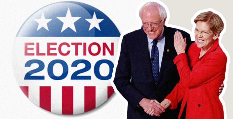 Bernie and Warren Team Up Against Moderate Candidates at Democratic Debate