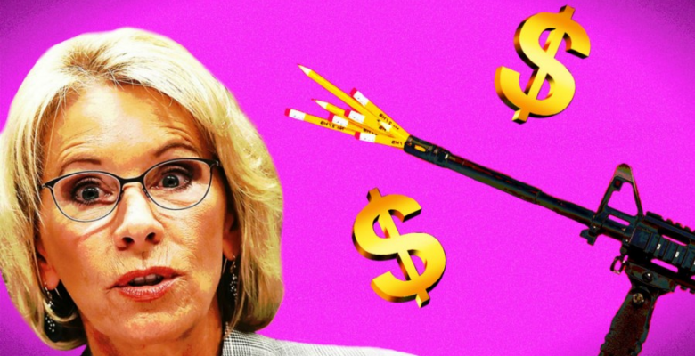 Betsy DeVos Considers Allowing Schools To Arm Teachers Using Federal Funds