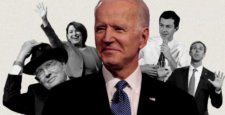 Joe Biden Lands Endorsements From Amy Klobuchar, Pete Buttigieg, Beto O'Rourke, and Harry Reid