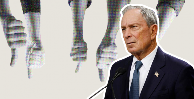 Mike Bloomberg Gets Highest Unfavorable Rating of Any Democrat in First Poll Since His Filing
