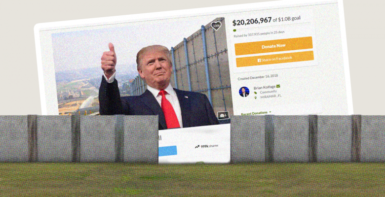 Crowdfunded Border Wall Ordered to Keep Its Gate Open Indefinitely