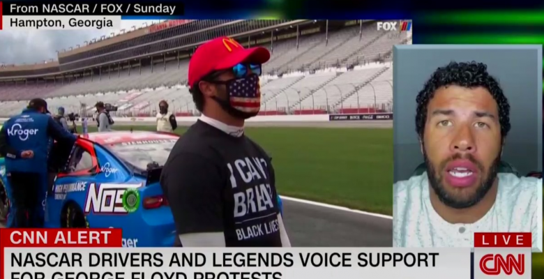 """FBI Says No Hate Crime But NASCAR's Bubba Wallace Insists Rope in Garage Was a """"Staight-Up Noose"""""""