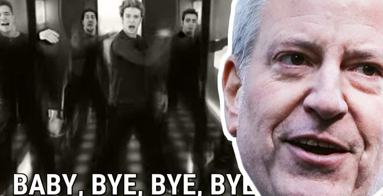 Blasio Bye Bye