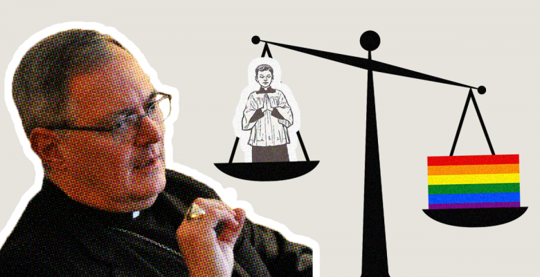 Bishop Who Ignored Vile Child Sex Abuse Complains LGBTQ Pride Month is 'Harmful for Children'