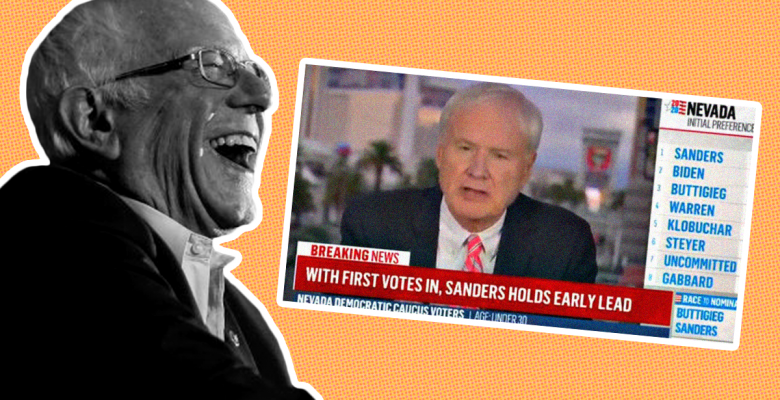 Chris Matthews Compares Bernie Sanders Win In Nevada to Nazi Invasion of France