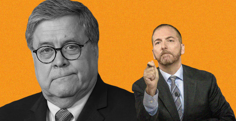 """NBC News Apologizes For """"Inaccurately"""" Editing Clip of Bill Barr on """"Meet the Press"""""""