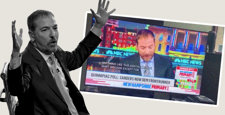 "Chuck Todd Slammed for Quoting Article Comparing Sanders Supporters to Nazi ""Brown Shirts"""