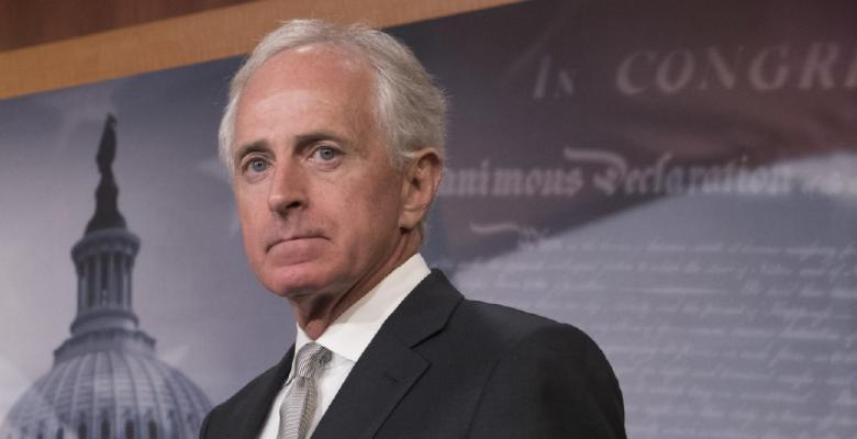 "Sen. Corker Says Trump Has ""Debased Our Nation"""
