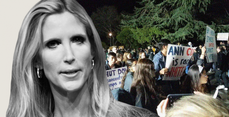 Masked Protesters Arrested at Ann Coulter's Berkeley Speech After Last One Was Canceled