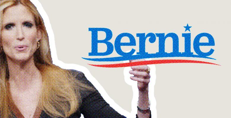 Ann Coulter Says She Would Vote For Bernie In Wake Of His Appearance On Fox