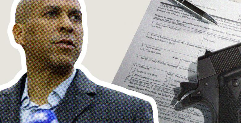 Cory Booker Control Plan to Require Licenses and Background Checks, Ban Assault Weapons