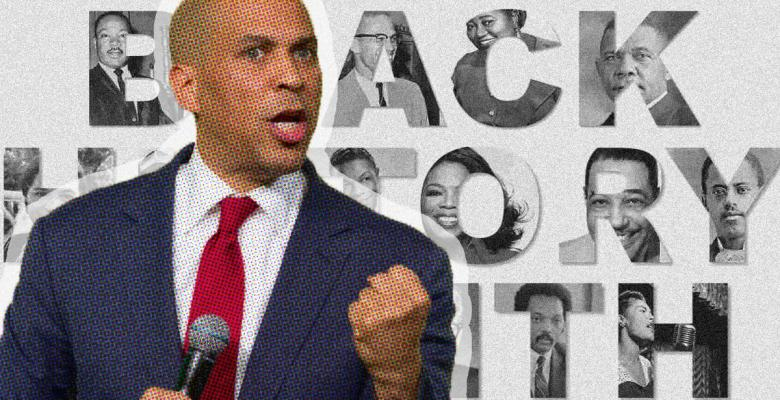 Cory Booker Launches Presidential Run on First Day of Black History Month