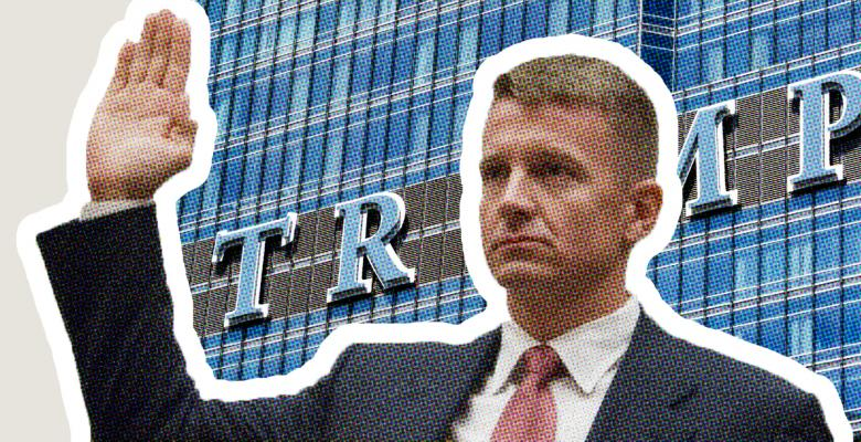 Erik Prince Admits Attending Trump Tower Meeting After Denying It Under Oath to Congress