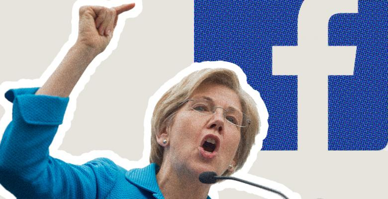 Facebook Deletes Elizabeth Warren Ads Criticizing Company, Restores Them After Backlash