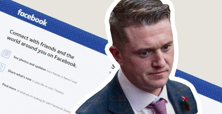 British Activist Tommy Robinson Banned From Facebook, Instagram for 'Hate Speech'