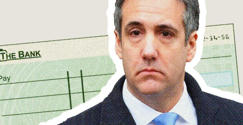 Michael Cohen Reveals Check Signed by Trump Reimbursing Him for Stormy Daniels Hush Payment