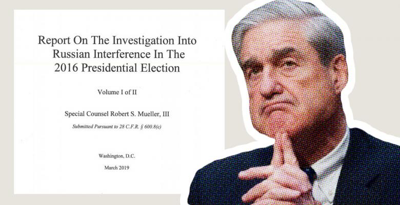 Bob Mueller Did Not Rule on Obstruction of Justice Because He Couldn't Prove Trump's 'Intent'