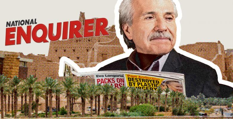 National Enquirer Publisher Asked Justice Department If It Must Register as a Saudi Agent