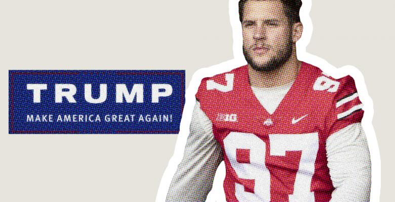 Top NFL Draft Prospect Nick Bosa Rushes to Delete Pro-Trump, Anti-Kaepernick Tweets