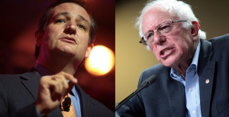 Cruz and Sanders Kick Off The Fight For 2018 and 2020