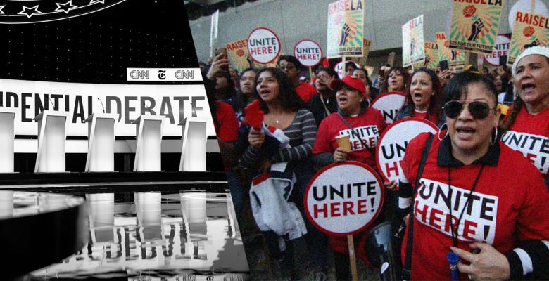 All 7 Democrats Vow to Boycott Next Debate Over Union Dispute
