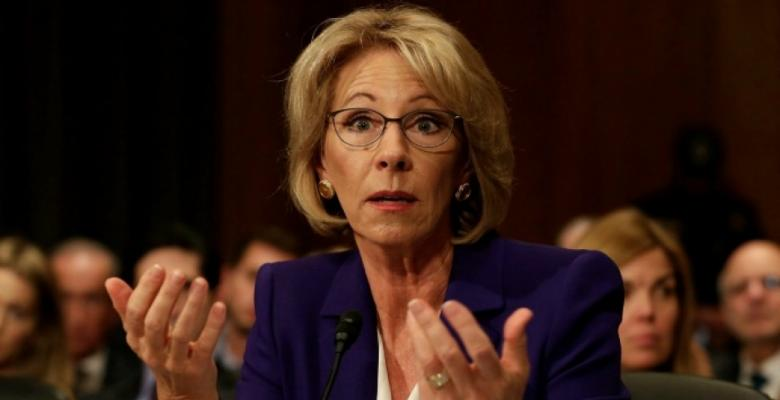 DeVos' School Choice Speech Couldn't Come At A Worse Time