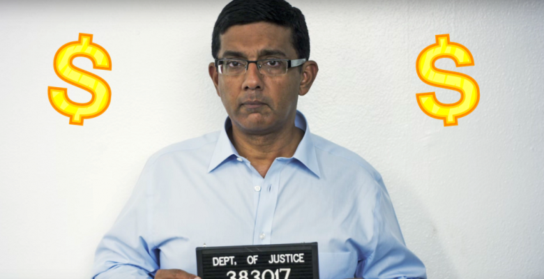 Irony: Anti-SJW D'Souza Invokes Identity Politics In Twitter Jab After Pardon