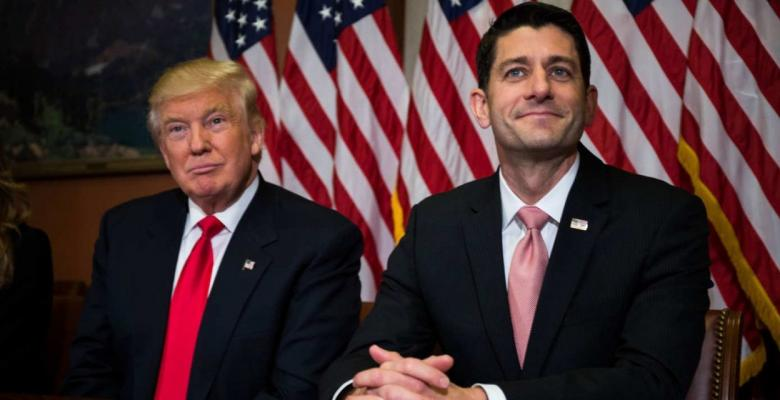 "Paul Ryan On GOP Unity: ""We're With Trump"""