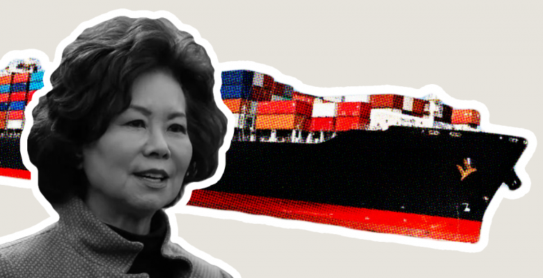 Elaine Chao Canceled 'Inappropriate' China Meeting to Boost Family Biz After State Dept. Alarms