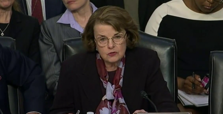 Dianne Feinstein Stepping Down as Top Dem on Judiciary Committee After Progressive Criticism