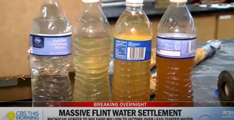 Michigan Agrees to Pay $600M to Flint Victims, About $6,000 Per Resident