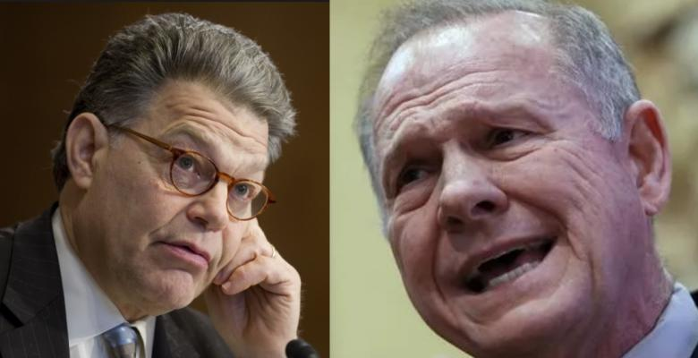 Al Franken & Roy Moore: A Sexual Goofus & Gallant