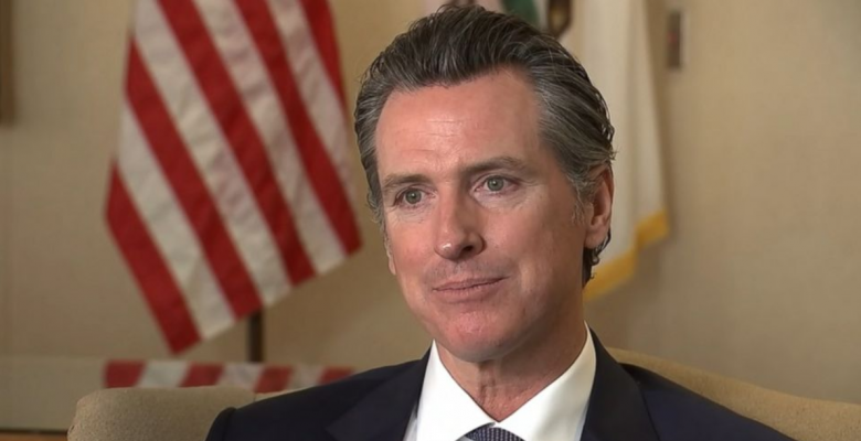 California Gov. Gavin Newsom Requires Residents to Wear Masks Outside Their Homes