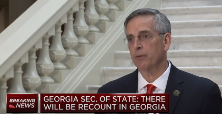 Georgia Secretary of State Says Election Headed for a Recount