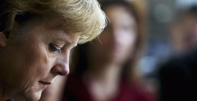 Merkel Returns To Poland With Tail Between Her Legs