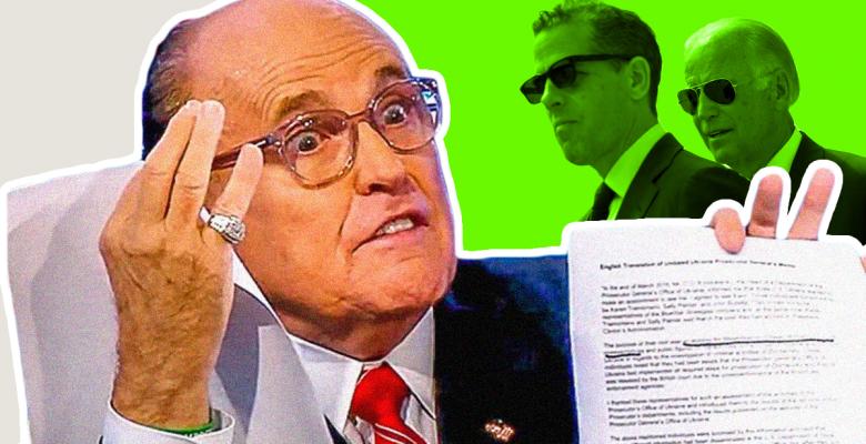 "Bill Barr Has New Special ""Process"" For Giuliani to Feed DOJ Biden Dirt, Lindsey Graham Says"