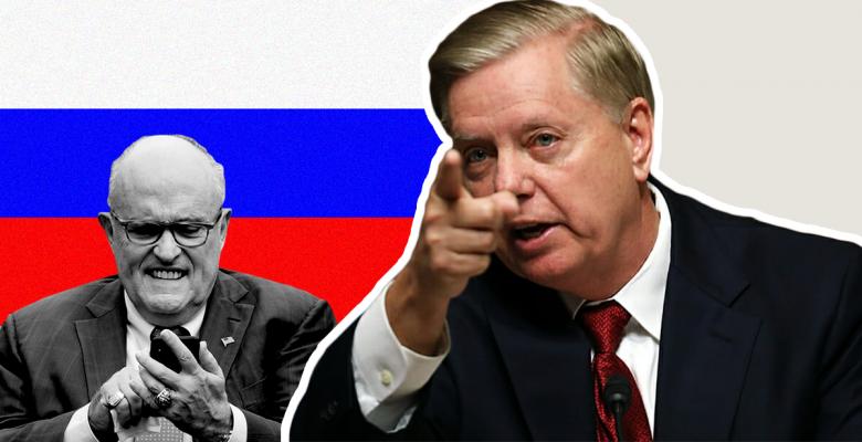 "Lindsey Graham Warns Rudy Giuliani to Vet Ukraine Dirt to Ensure It's Not ""Russian Propaganda"""
