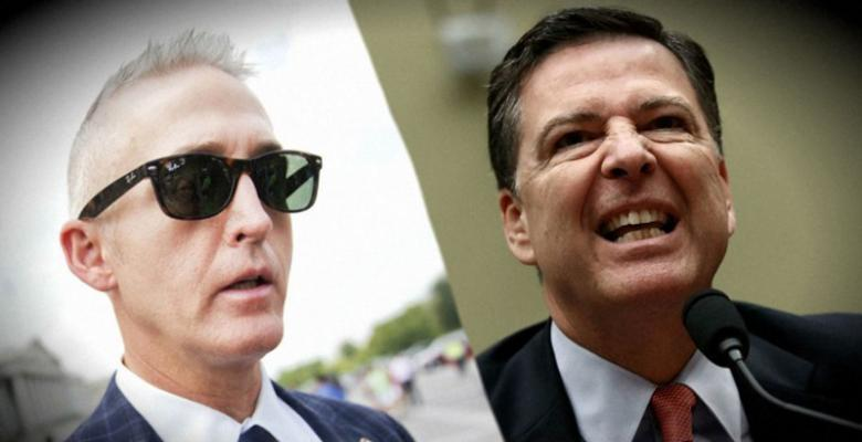 Trey Gowdy Targets DOJ And Comey's FBI In New Investigation