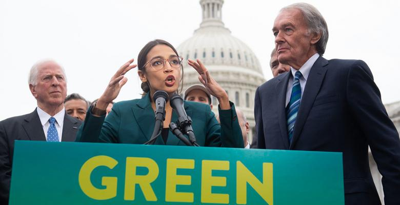 Democrats Take Heat for Voting 'Present' on New Green Deal